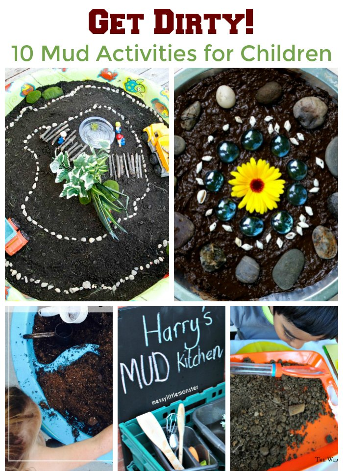Get Dirty! 10 Playing in the Mud Activities for Children. Playing in the dirt has never been so much fun | Mommy Evolution