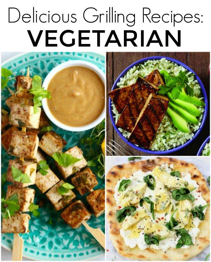 Delicious Vegetarian Grilling Recipes: 50 Backyard BBQ Recipes - Perfect Grilling Recipes for your next dinner, picnic or backyard gathering | The Jenny Evolution