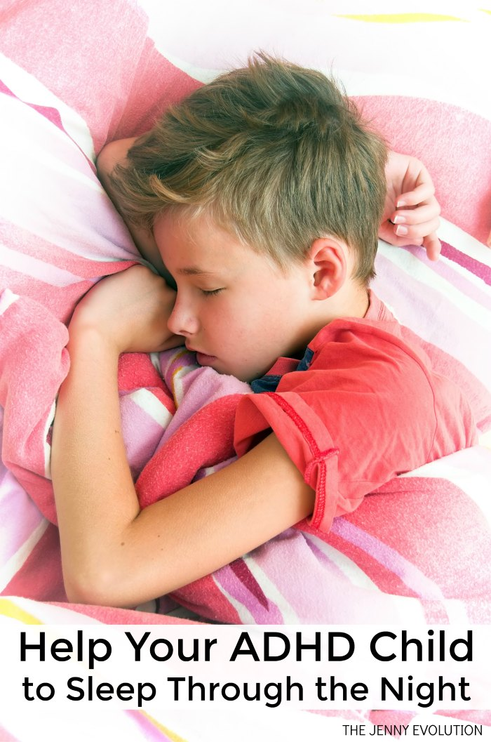 Help Your ADHD Child Sleep Through the Night | Mommy Evolution