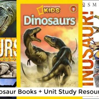 Educational Dinosaur Books (Dinosaur Unit Study)