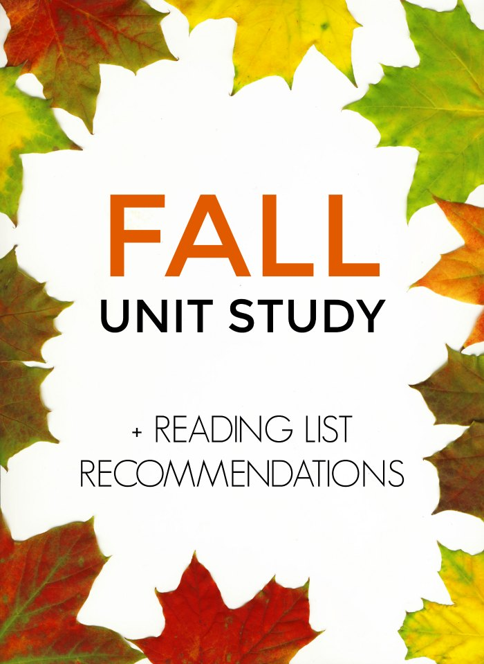 Fall Unit Study for Classroom and Homeroom, Plus Reading List Book Recommendations | The Jenny Evolution