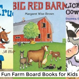 Fun Farm Board Books for Kids (Farm Study Unit)
