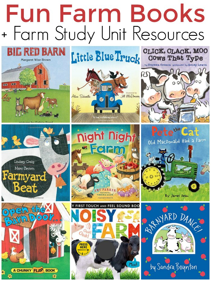 Fun Farm Board Books for Kids Plus Farm Unit Study Resources | Mommy Evolution