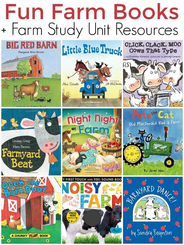Fun Farm Board Books for Kids Plus Farm Unit Study Resources | The Jenny Evolution