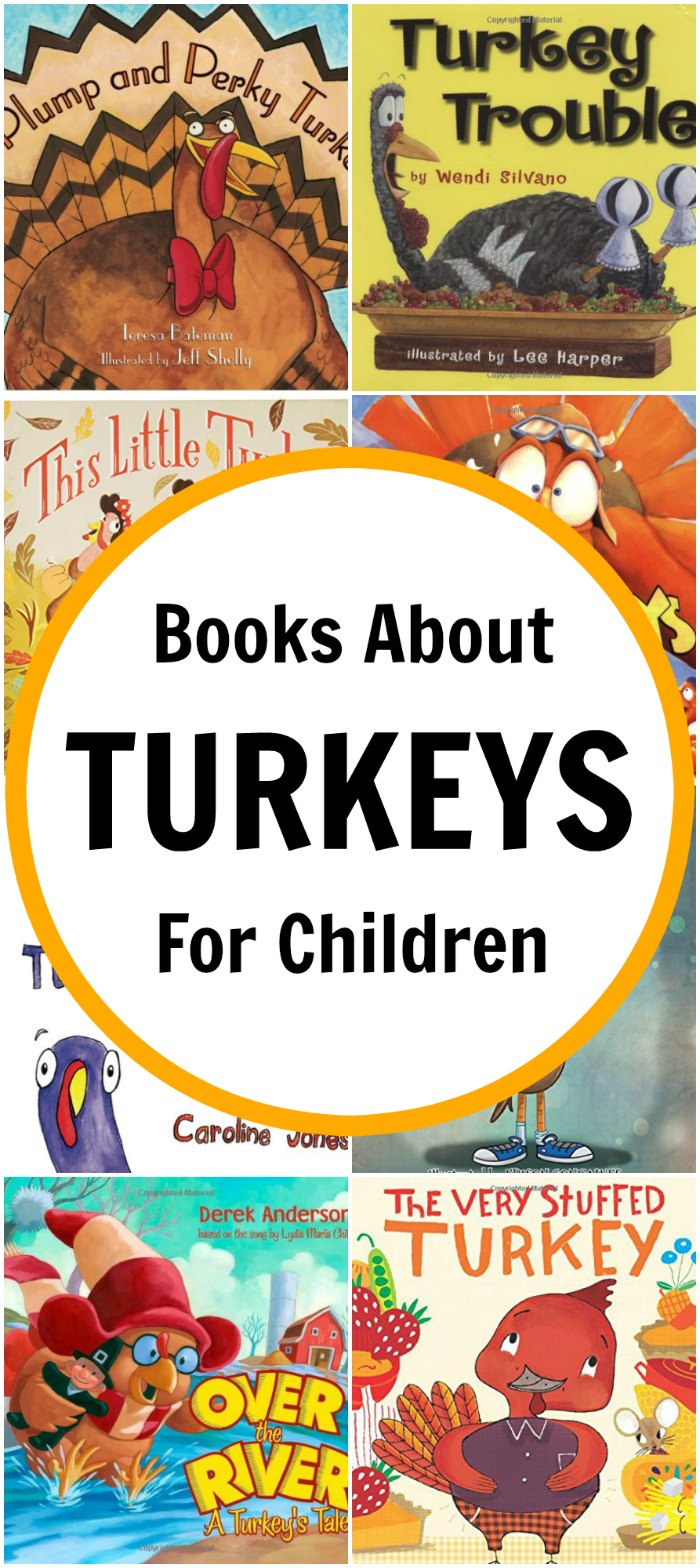 Picture Books about Turkeys for Kids (+ Thanksgiving Unit Study) | Mommy Evolution