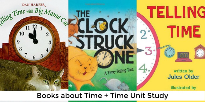 books about time + time unit study