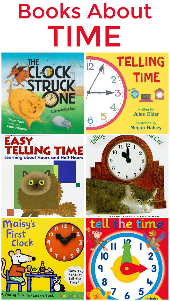 Childrens Books About Time + Time Unit Study | Mommy Evolution