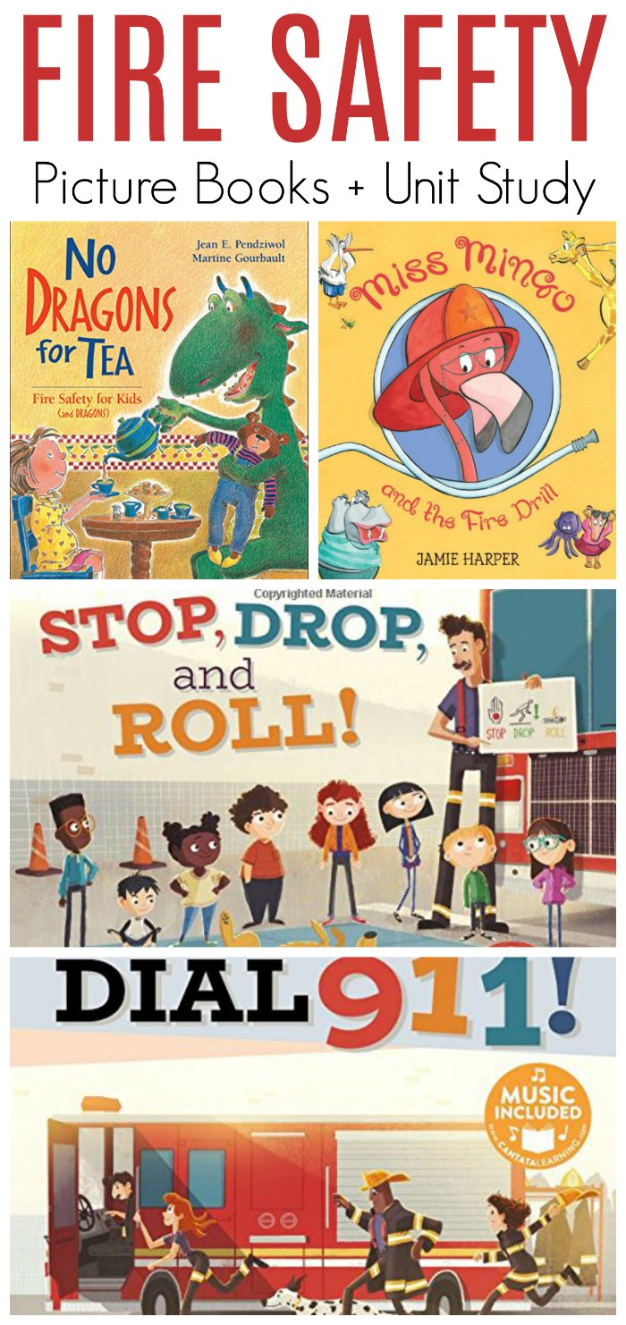 Fire Safety Books for Children - Picture Books! Plus Safety Unit Study Resources for Homeschool and Classroom   Mommy Evolution