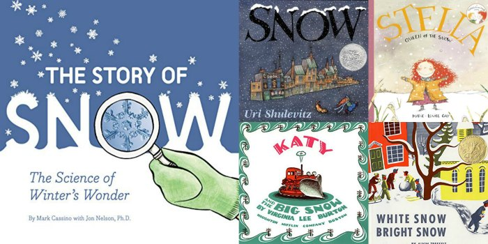 snow childrens books