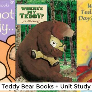 Teddy Bear Books (Teddy Bear Unit Study)