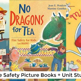 Fire Safety Books for Children (Safety Unit Study)