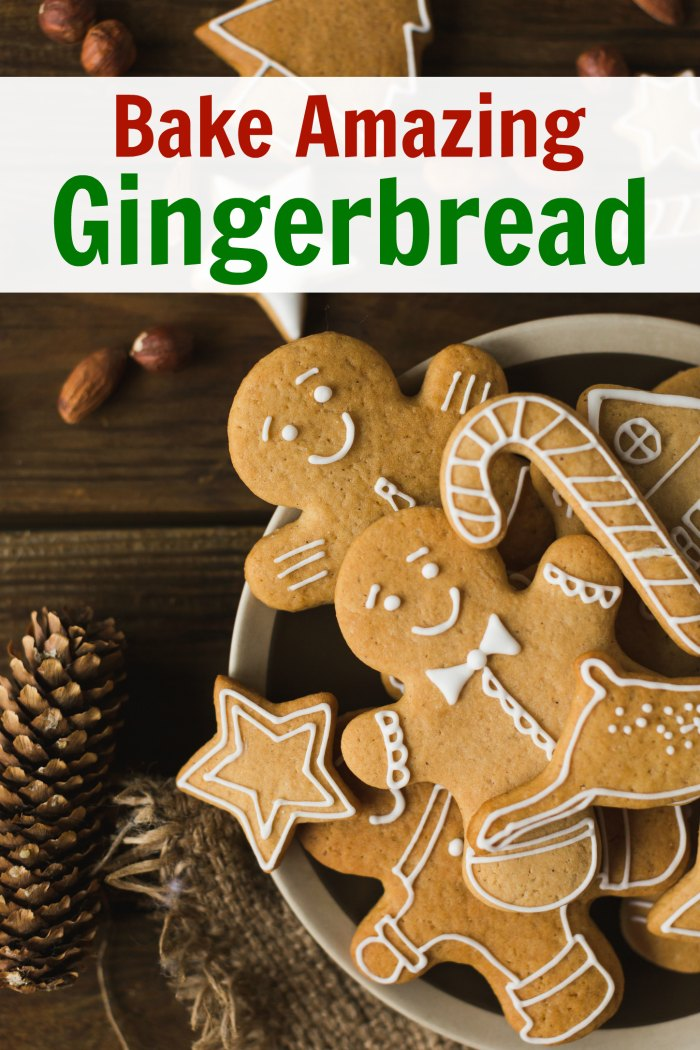 Bake Amazing Gingerbread every time - The Perfect Gingerbread Cookies Recipe | Mommy Evolution