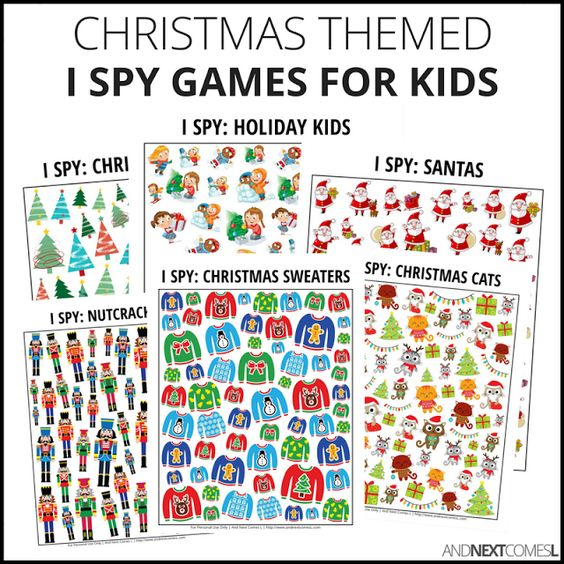 Christmas I Spy Bundle