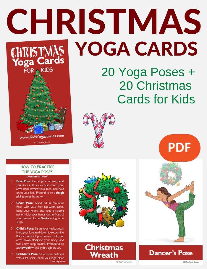Christmas Yoga Cards