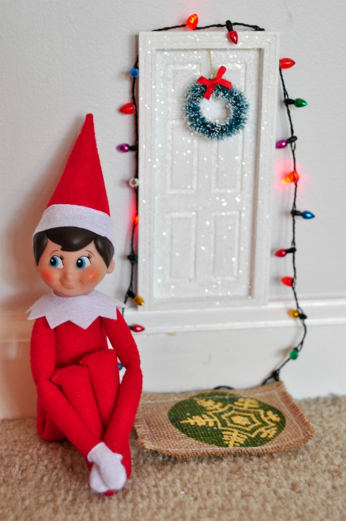 Elf on the Shelf Fairy Door