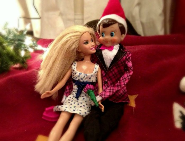 Date night for elf on the shelf