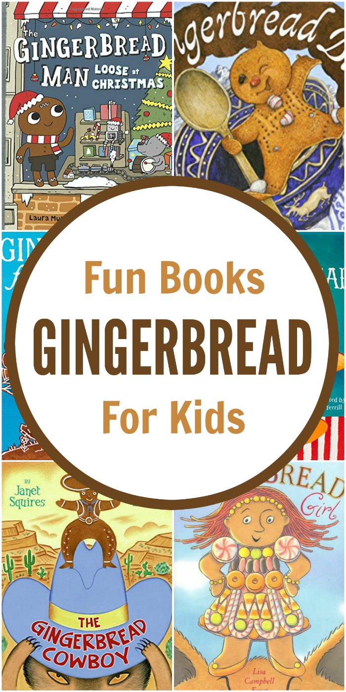 Catch these Fun Gingerbread Books! (Gingerbread Unit Study) | Mommy Evolution