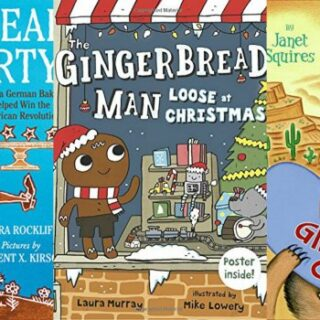 Catch these Fun Gingerbread Books! (Gingerbread Unit Study)