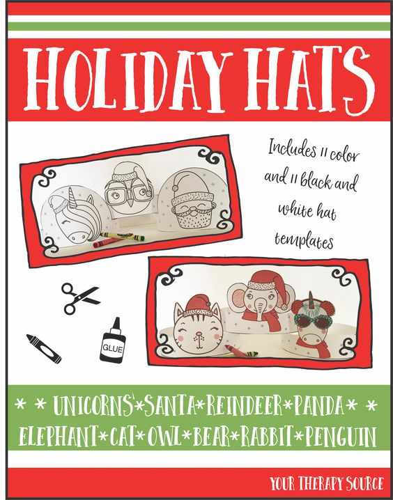 holiday hats craft