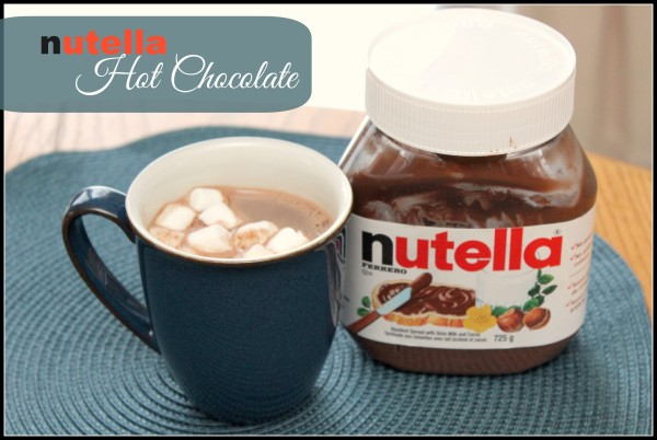 Nutella Hot Chocolate Recipe | Mom vs The Boys
