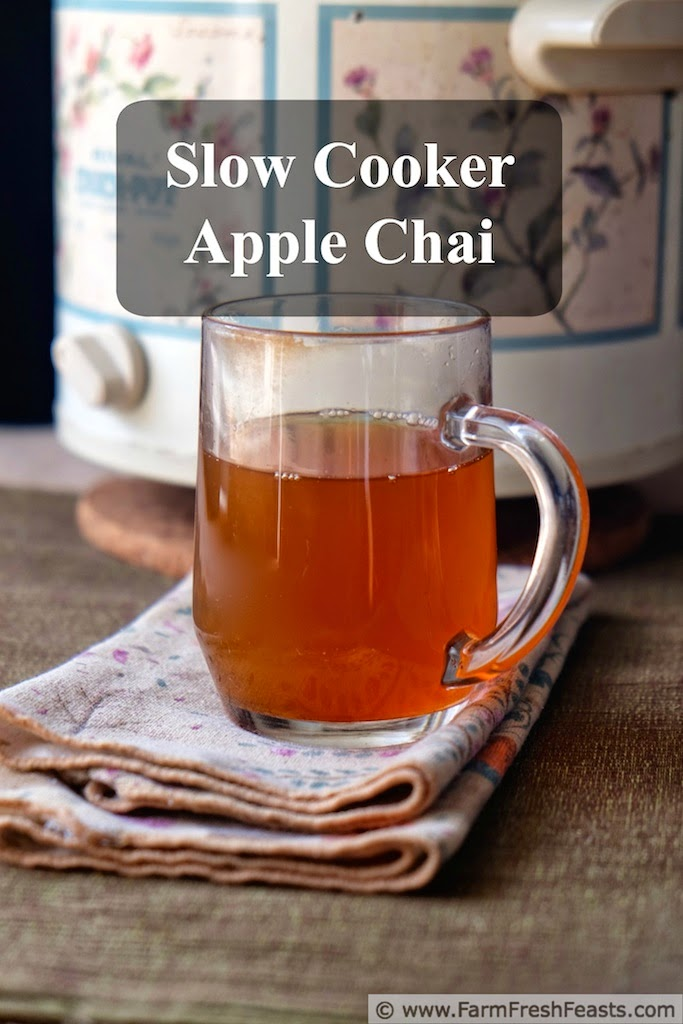 Slow Cooker Apple Chai Recipe | Farm Fresh Feasts
