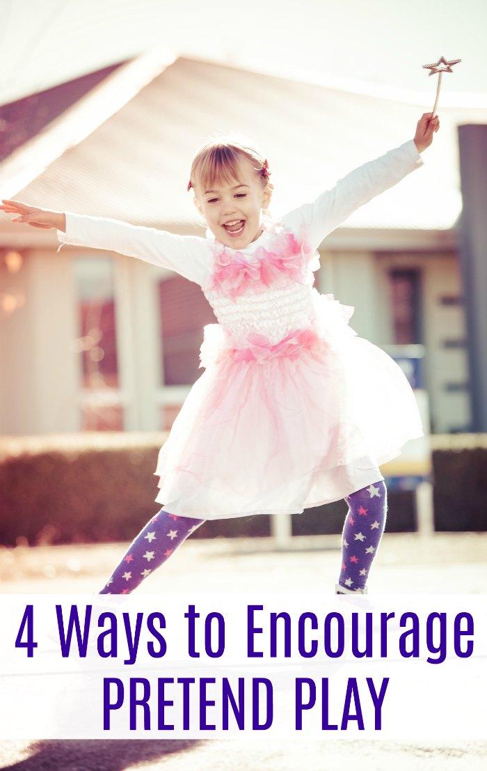 Four Ways to Encourage Pretend Play in Children | Mommy Evolution