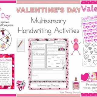 No-Prep Valentine Worksheets and Activities