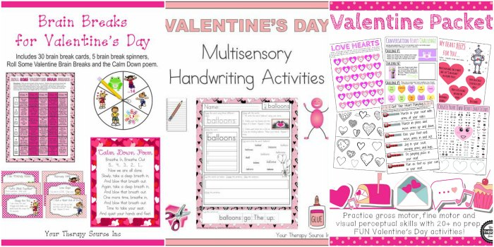 No-Prep Valentine Worksheets and Activities | Mommy Evolution