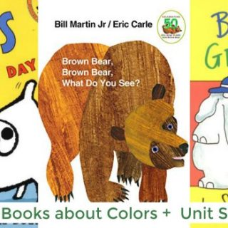 Preschool Books About Colors (Unit Study)