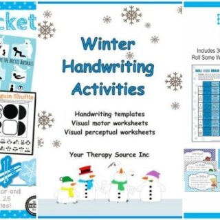 No Prep Winter Worksheets and Activities