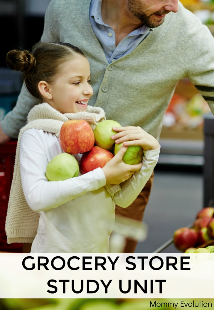 Grocery Story Unit Study + Reading List | Mommy Evolution
