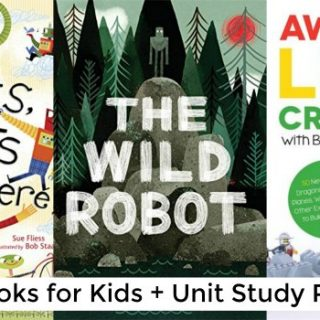 Robot Books for Kids (Unit Study)