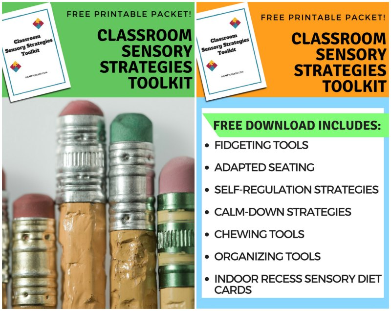 Classroom Sensory Strategies Toolkit