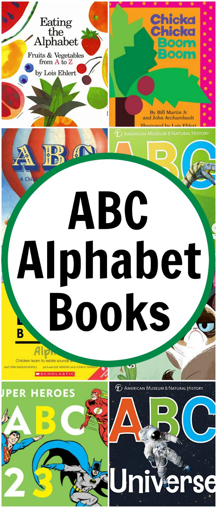 ABC Alphabet Books for Kids (Alphabet Unit Study)