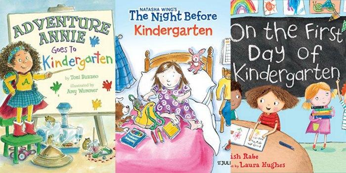 first day of kindergarten books