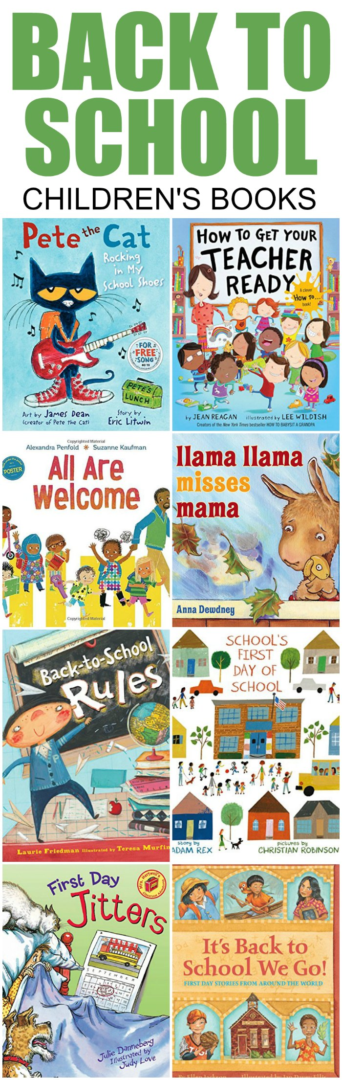 Back to School Books for Children | Mommy Evolution