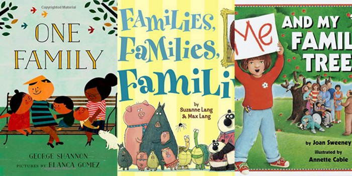 chldrens books about family
