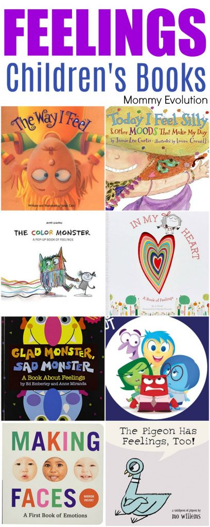 Books about Feelings for Preschoolers - Children's Emotions Books (Plus Feelings Unit Study Resources) | Mommy Evolution