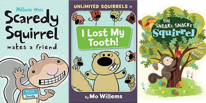 Children Books about Squirrels