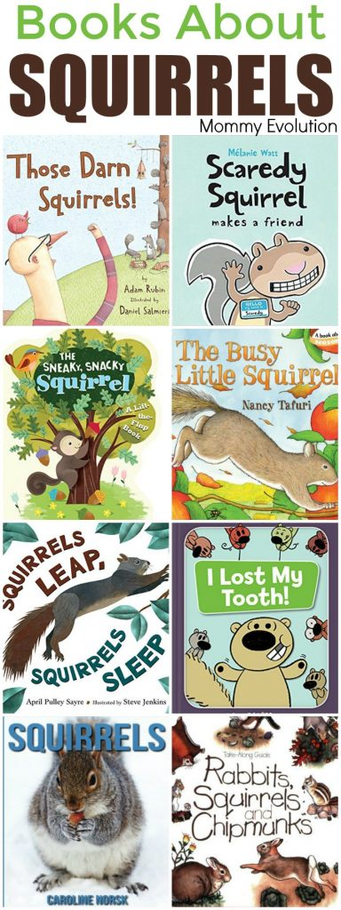 Squirrel Books for Children and Kids Plus Squirrel Unit Study | Mommy Evolution