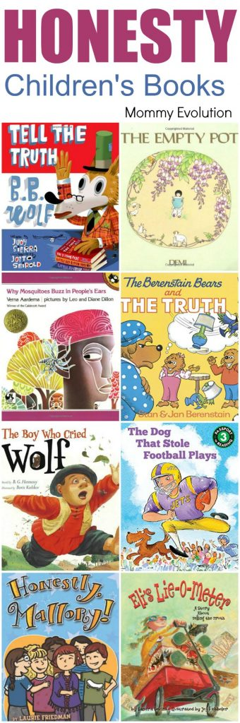 Children's Books about Honesty & Integrity (Virtues Unit Study) | Mommy Evolution