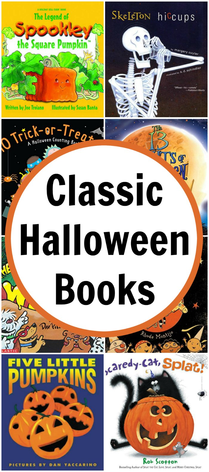 40 Classic Children Halloween Picture Books | Mommy Evolution
