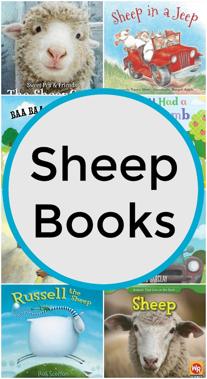 Books about Sheep for Kids + Unit Study Classroom and Homeschool Resources and Crafts | Mommy Evolution