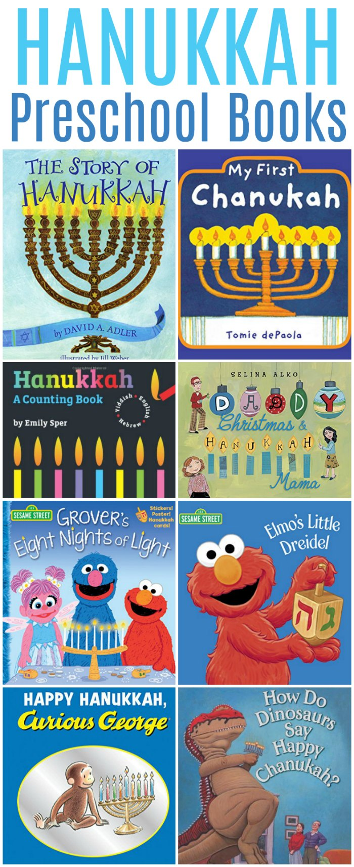 Hanukkah Books for Preschoolers (Childrens Board Books Edition) | Mommy Evolution