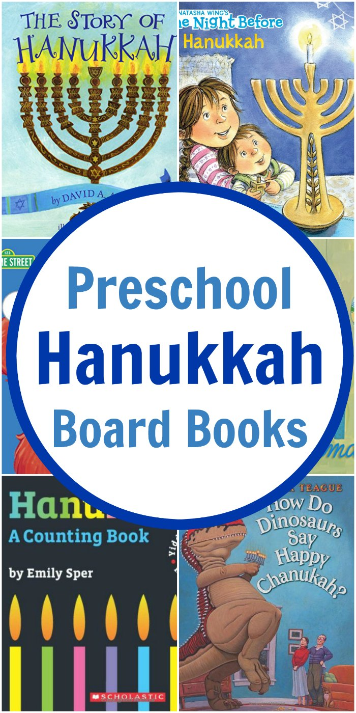 Hanukkah Books for Preschoolers (Board Books Edition) | Mommy Evolution