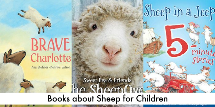 books about sheep for children