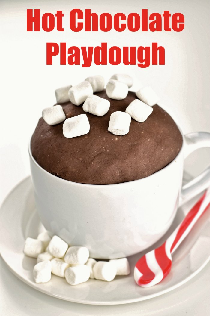 Hot Chocolate Playdough Recipe | Mommy Evolution