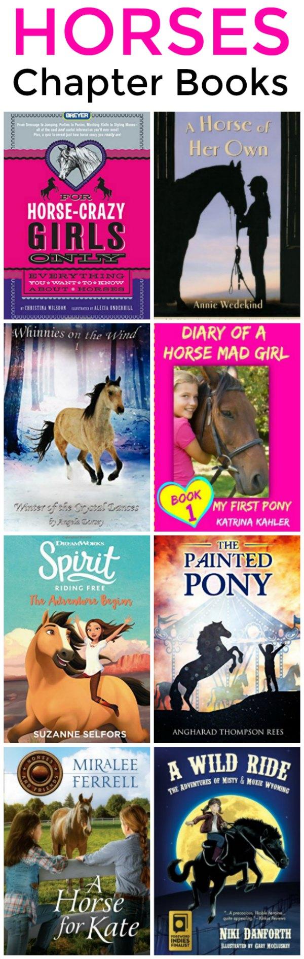 Chapter Horse Books for Girls | Mommy Evolution