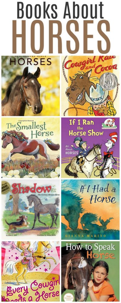 Delightful Horse Books for Kids - Great books about horses that children will love! | Mommy Evolution