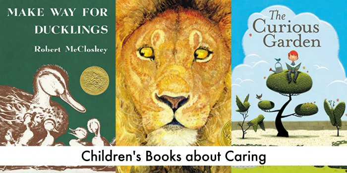 teaching children to care - children's books about caring